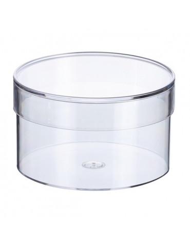 Boite ronde plastique 85 mm