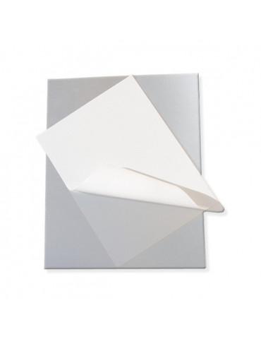 METAL'MAG - Plaque métal adhésive x2 - 20x30cm