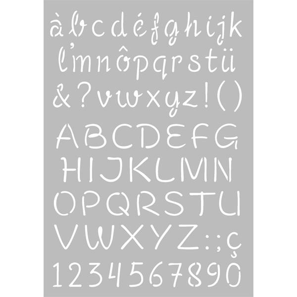 Pochoir alphabet gratuit - Alphabet a decouper gratuit ...