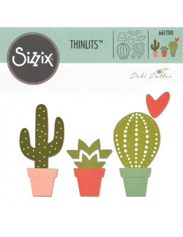 Dies Cactus - Thinlits Sizzix