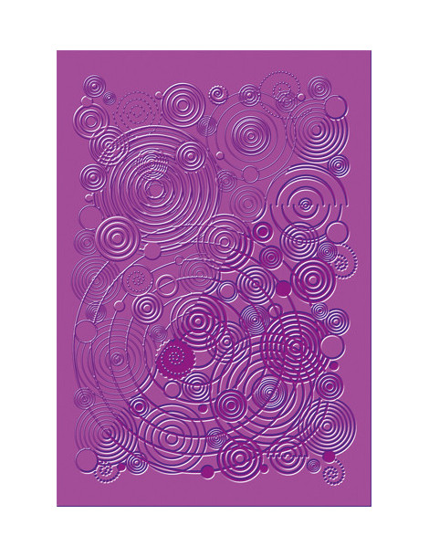 Plaque texture FIMO - Spirales