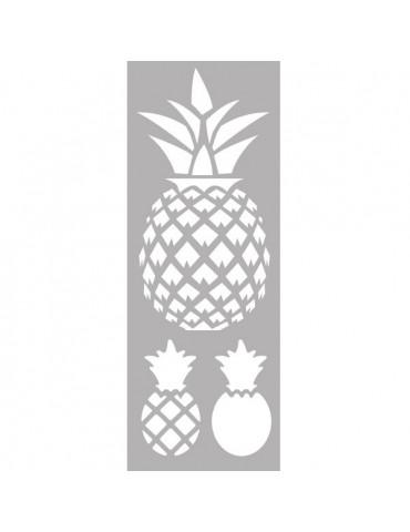 Pochoir déco - Ananas - 15x40cm