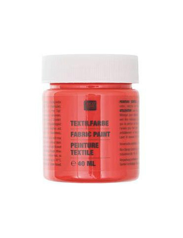 Peinture textile Orange - 40ml - Rico Design