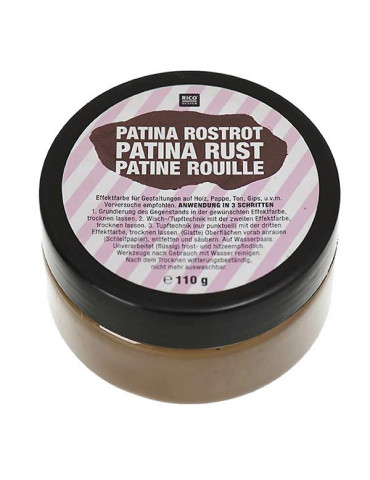 Patine Rouille 110g - Rico Design