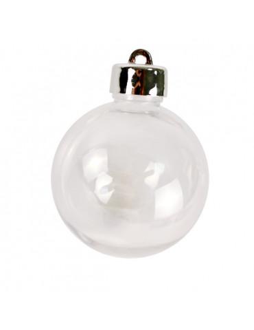 Boule en plastique 60mm x4 - Bouchon à visser