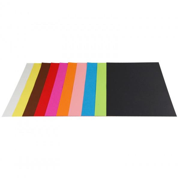 bloc papier couleur 120g 30 feuilles tout creer. Black Bedroom Furniture Sets. Home Design Ideas