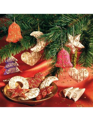 Moule pour FIMO - Déco Noel