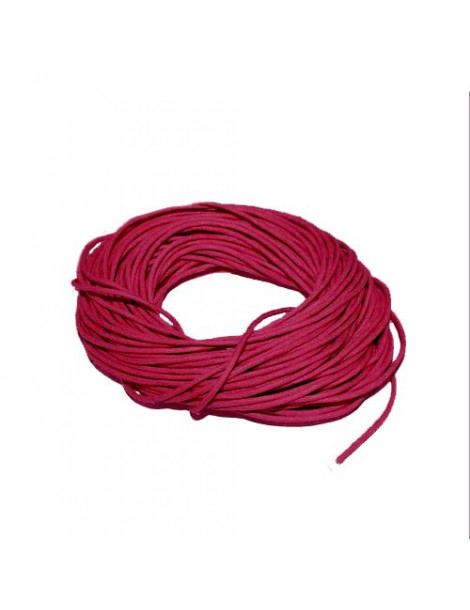 Cordon en coton bordeaux 1mm x5m