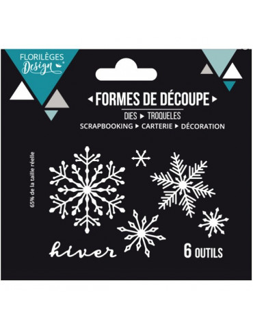 Dies Hiver floconné - Florilèges Design