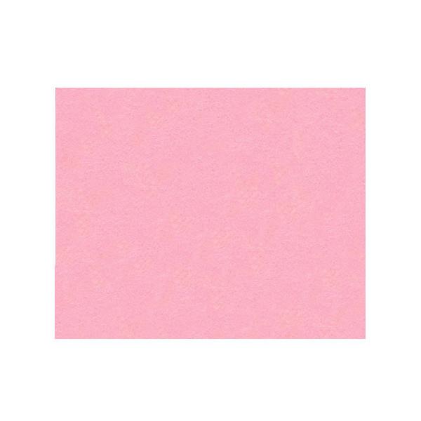 Feutrine 1mm rose dragée x12