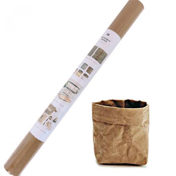 Washable Paper Brun - 50x100 cm