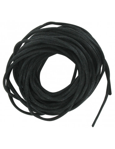 Cordelette satin Noir 2mm x6m