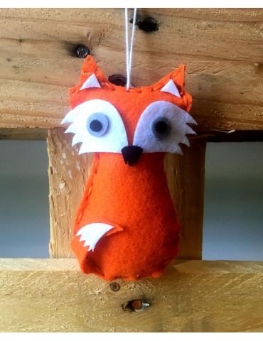 Kit DIY feutrine enfant Foxy - Renard à coudre - 3 pcs