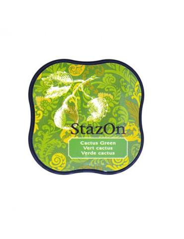 Encre StazOn Midi Vert Cactus - Tsukineko