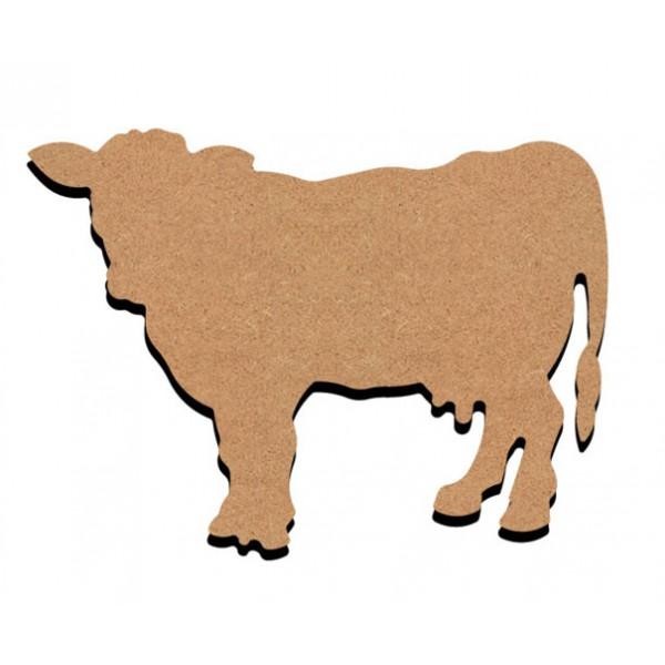 support bois vache 15cm tout creer. Black Bedroom Furniture Sets. Home Design Ideas