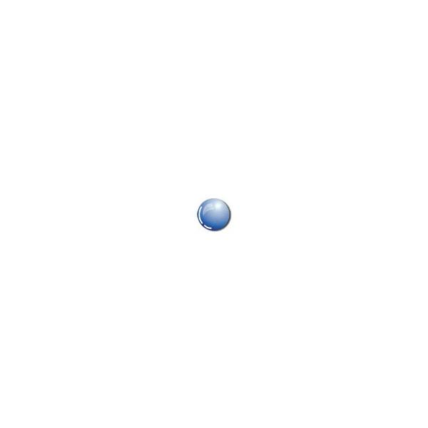 Peinture verre à l'eau - Bleu