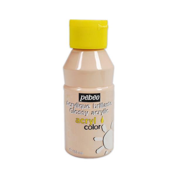 Peinture acrylique Pébéo, ACRYLCOLOR Rose clair 150ml