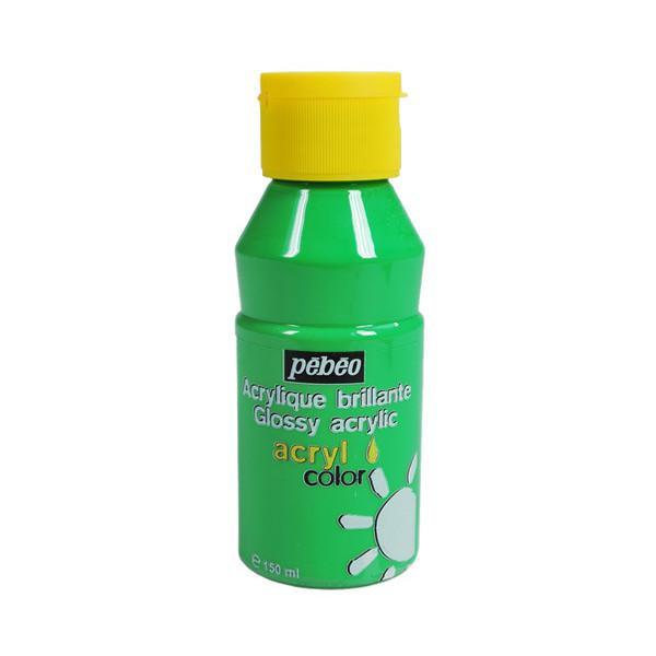 Peinture acrylique Pébéo, ACRYLCOLOR Vert clair 150ml