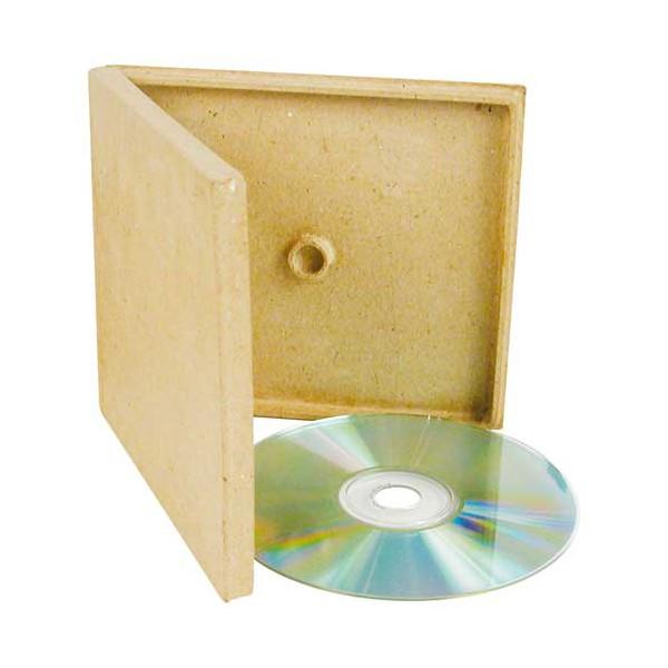 Boitiers cd en carton x10 tout creer for Decoration d une boite en carton