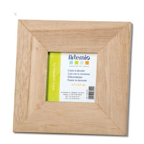 support bois cadre photo 224 d 233 corer 14 5 cm artemio