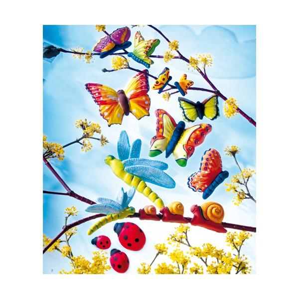 Moule pour fimo animaux jardin tout creer - Animaux decoratif pour jardin ...