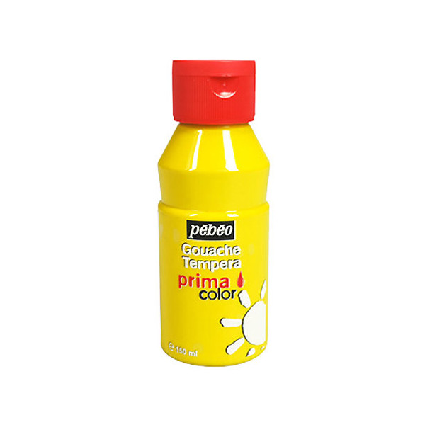 Gouache Jaune primaire 150ml Primacolor