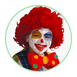 maquillage clown original. Black Bedroom Furniture Sets. Home Design Ideas