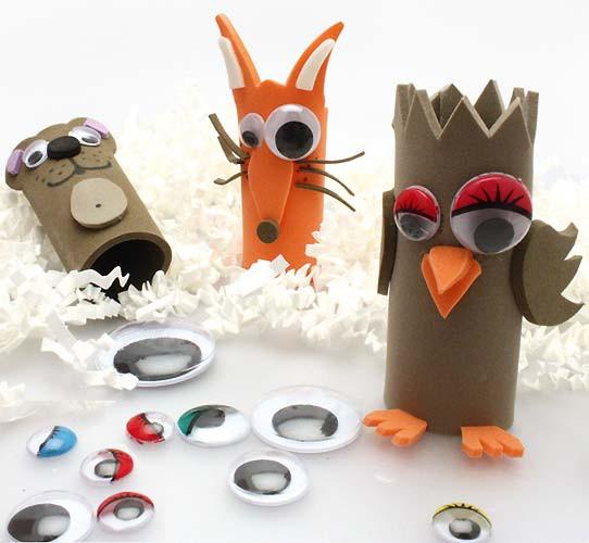marionnettes de doigt en mousse caoutchouc créer une marionnette en ...