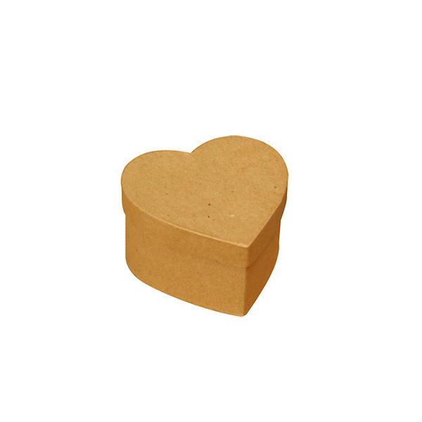 mini boites carton c ur x4 tout creer. Black Bedroom Furniture Sets. Home Design Ideas
