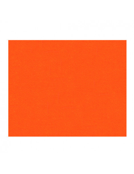 Feutrine 1mm orange de Chine x12