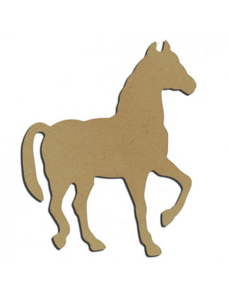 Support bois - Cheval 15cm
