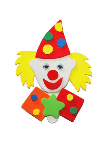 Clown magnet mousse