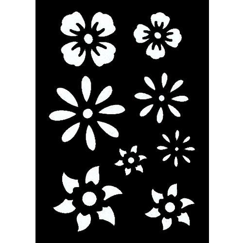 Pochoir adh sif pm fleur tout creer for Pochoir pour peinture