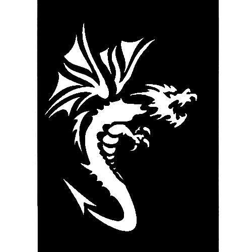 Pochoir dragon a imprimer gratuit - Pochoir gratuit a imprimer ...