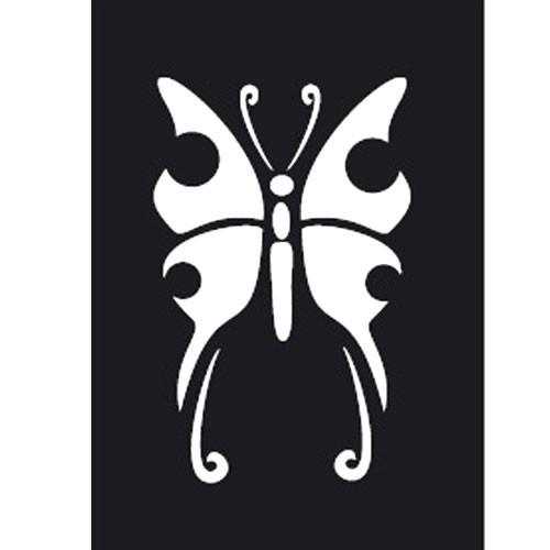 pochoir adh sif pm papillon tout creer. Black Bedroom Furniture Sets. Home Design Ideas