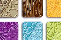 Plaques de textures pour modelage Fimo