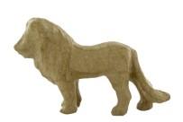 Lion en papier maché