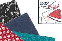 Tissu thermocollant - Customisation textile