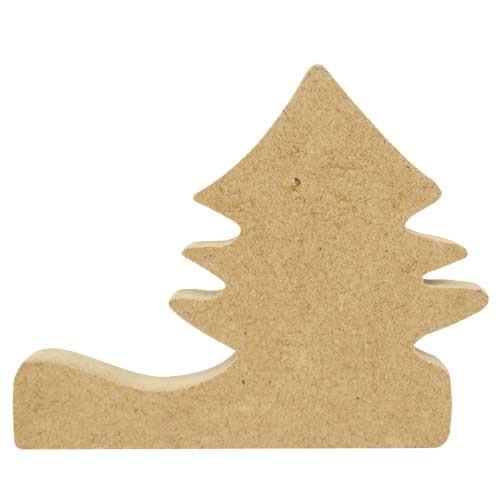 Porte couteaux sapin bois x4 tout creer - Modele de sapin de noel ...