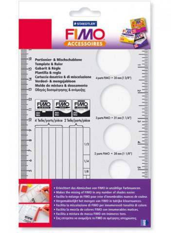 Gabarit et règle pour FIMO