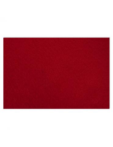 Feutrine 2mm rouge foncé