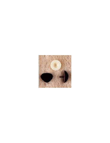 Nez velours noir 18mm