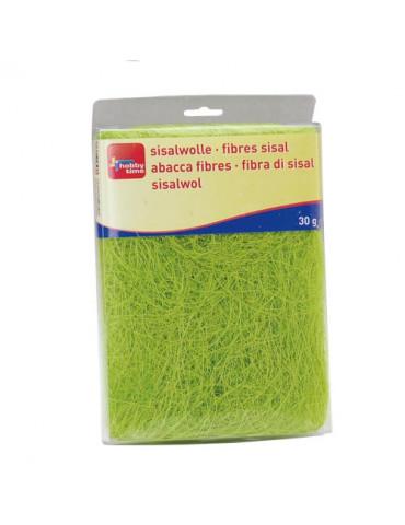 Fibres sisal vert clair