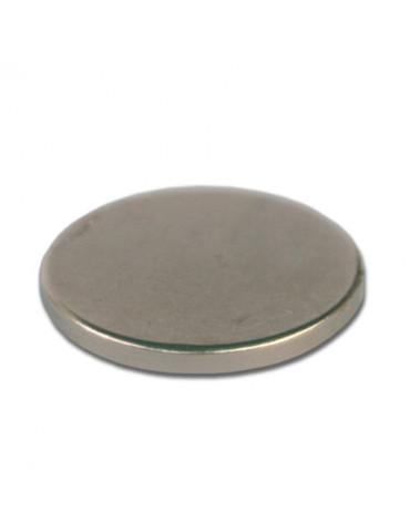 Aimant néodyme 20mm ép.2mm x10