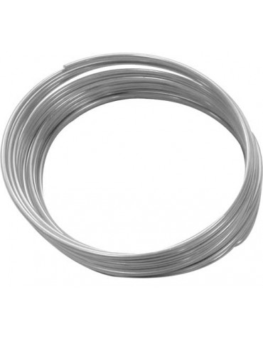 Fil aluminium argent - 1,5mm