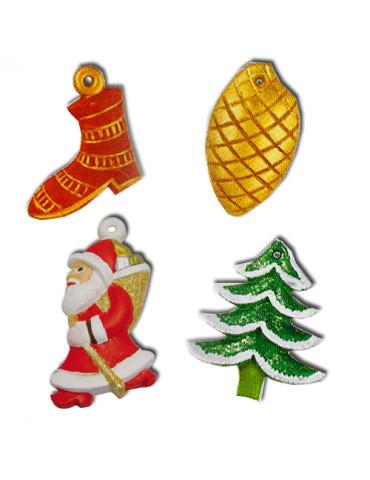 Moule thermoformé décor Noël 2
