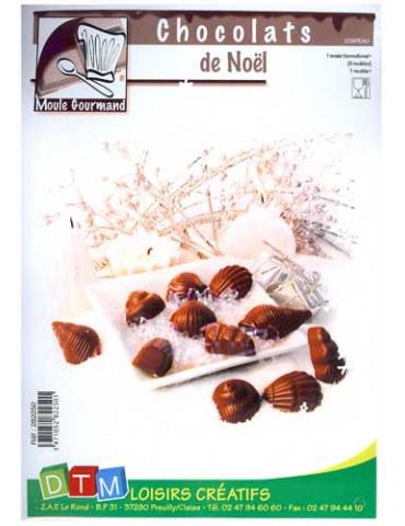 Moule chocolats de Noël