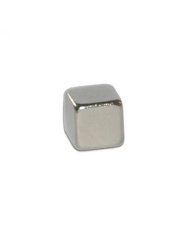 Aimant néodyme cube 5mm x10