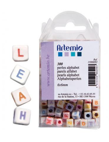 Perles plastique alphabet