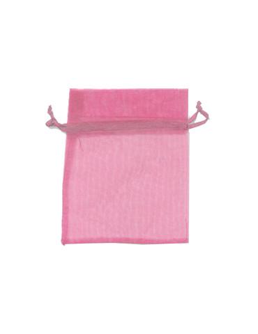 Sachet organza rose x12